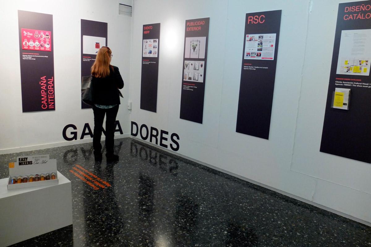 Exposción I Premios A Crear de la Comunicación Publicitaria de La Rioja