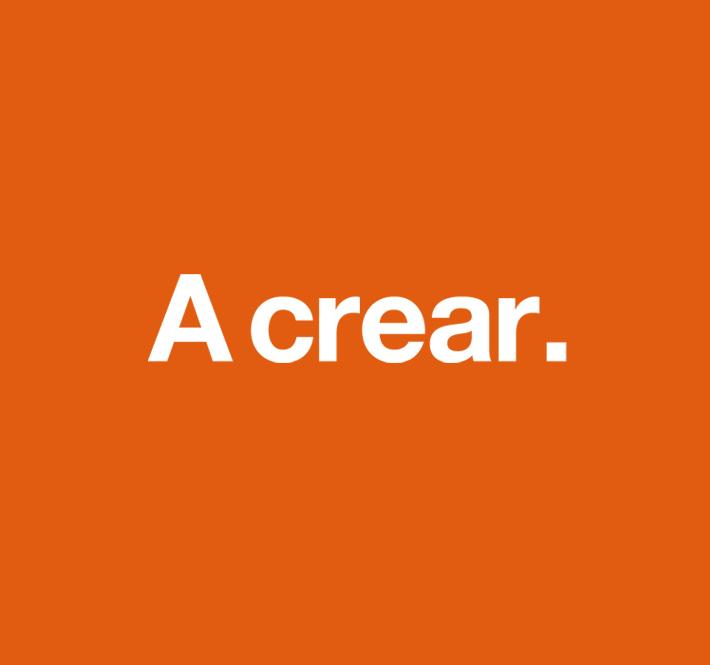A crear