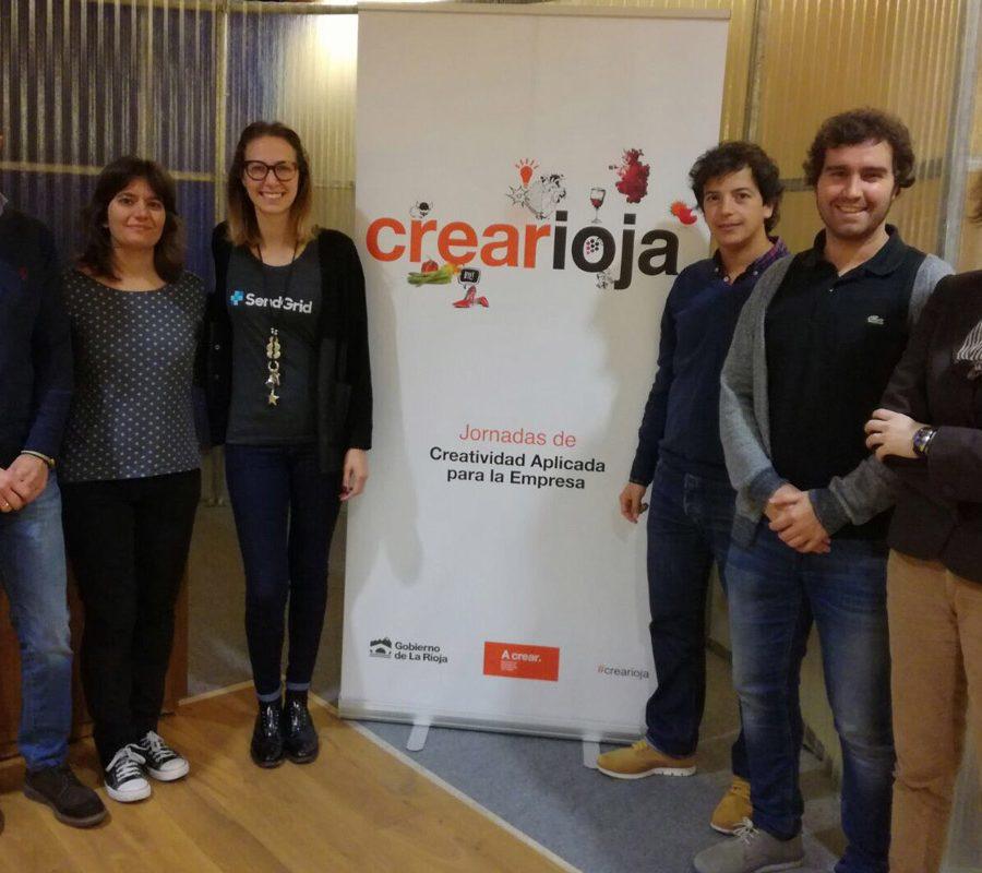 Ponentes Y Organizadores De La Jornada De Crearioja En Arnedo