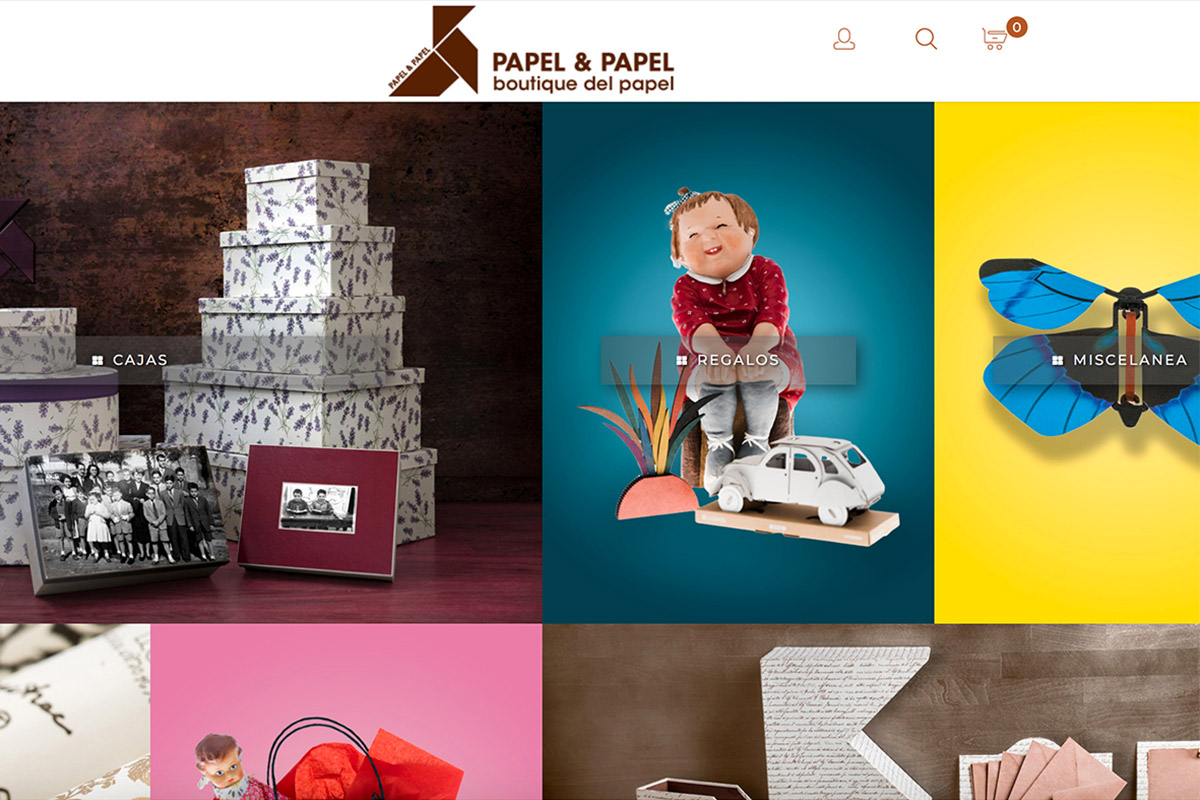 Trece Marketing Desarrolla La Tienda Online Papelypapel.es