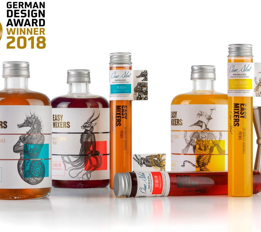 TSMGO Gana Varios Premios De Packaging Con Easy Mixers