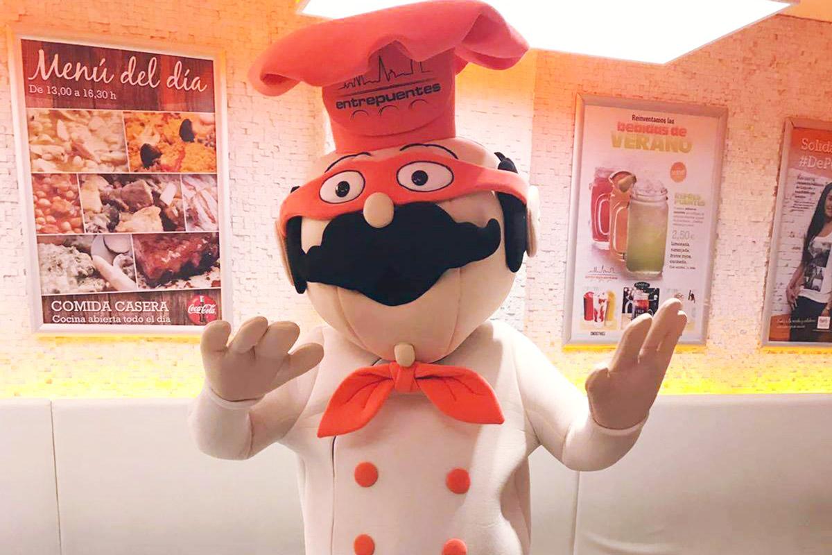 """Trece Marketing Convierte En Mascota """"de Carne Y Hueso"""" A Entrepuentesman, El Personaje De Tris"""