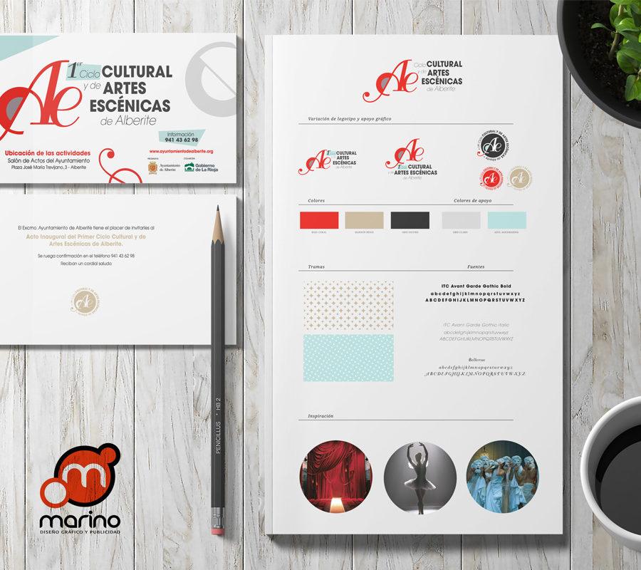 Marino Publicidad Crea La Imagen Del Primer Ciclo De Artes Escénicas De AlberiteMarino Publicidad Crea La Imagen Del Primer Ciclo De Artes Escénicas De Alberite