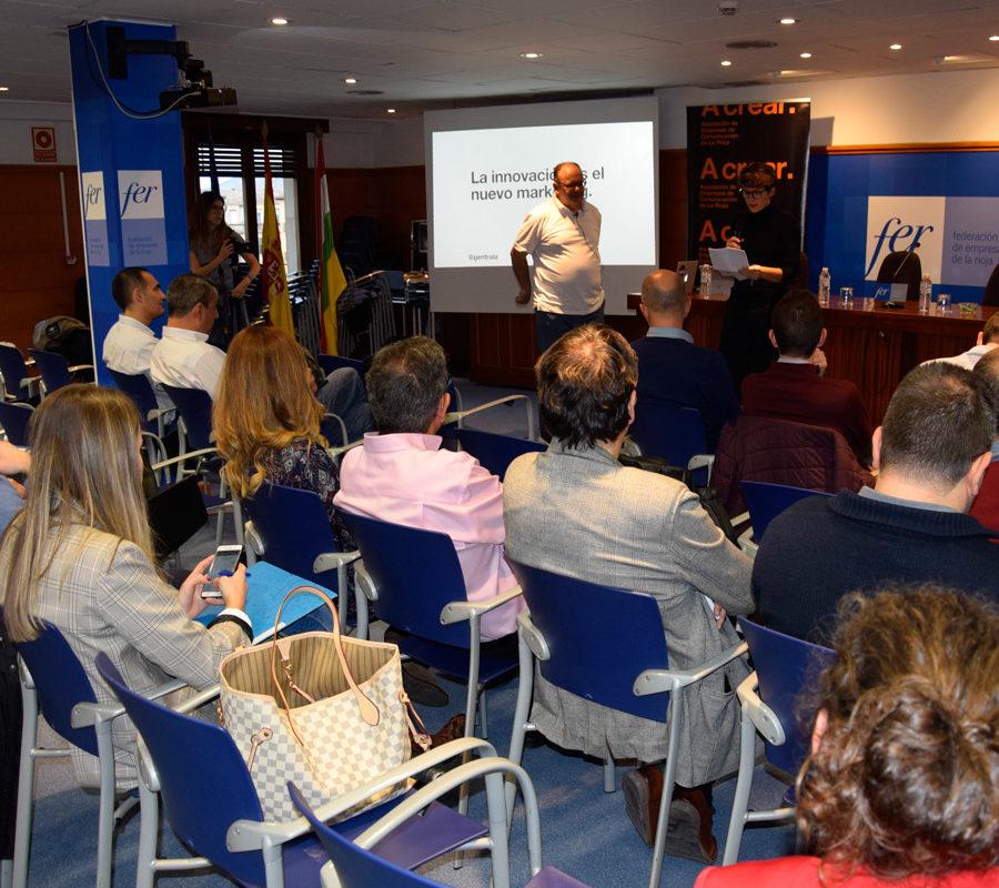Jornada 'La Innovación Es El Nuevo Marketing', Con Gustavo Entrala