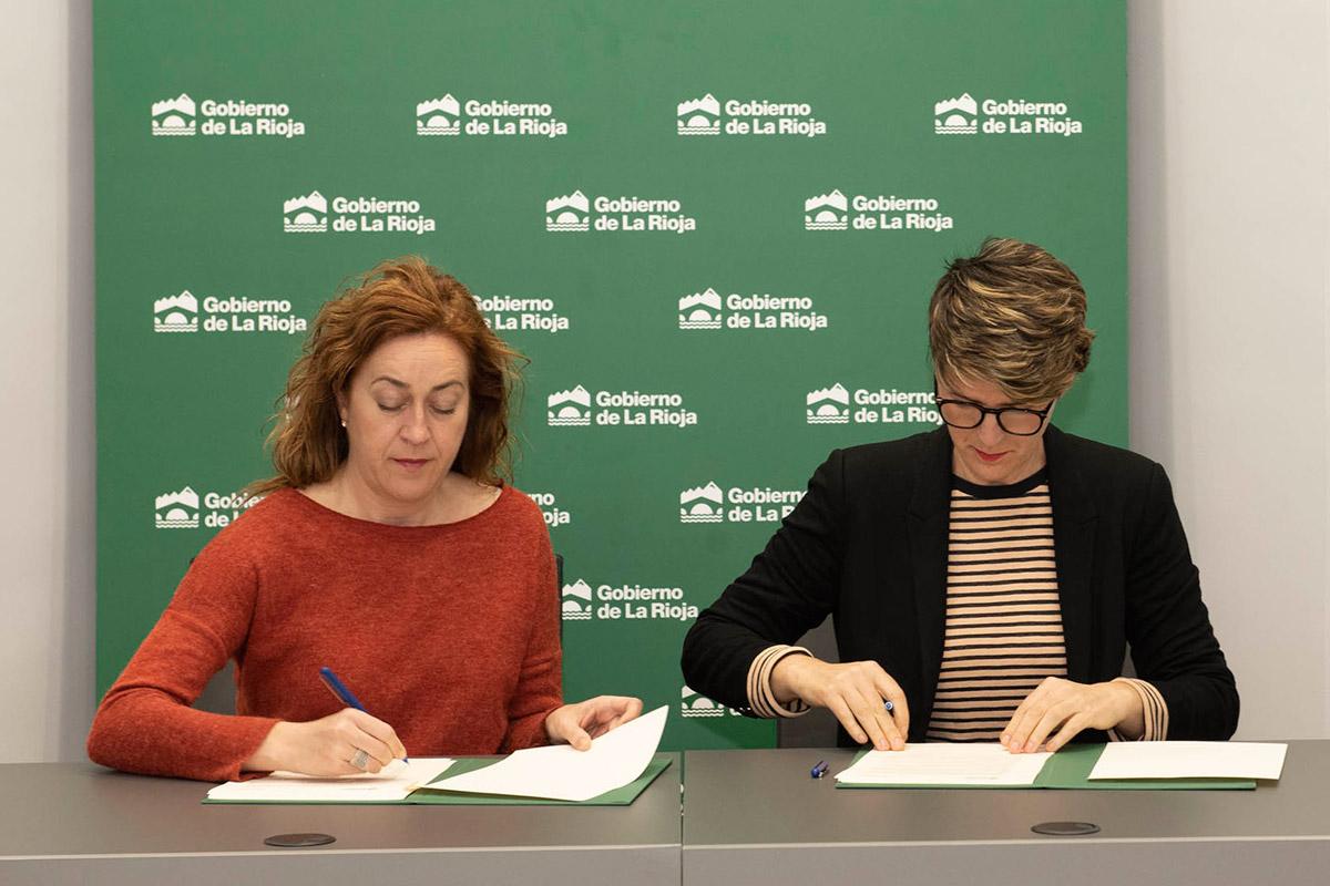 Renovación Del Convenio Entre El Gobierno De La Rioja Y A Crear