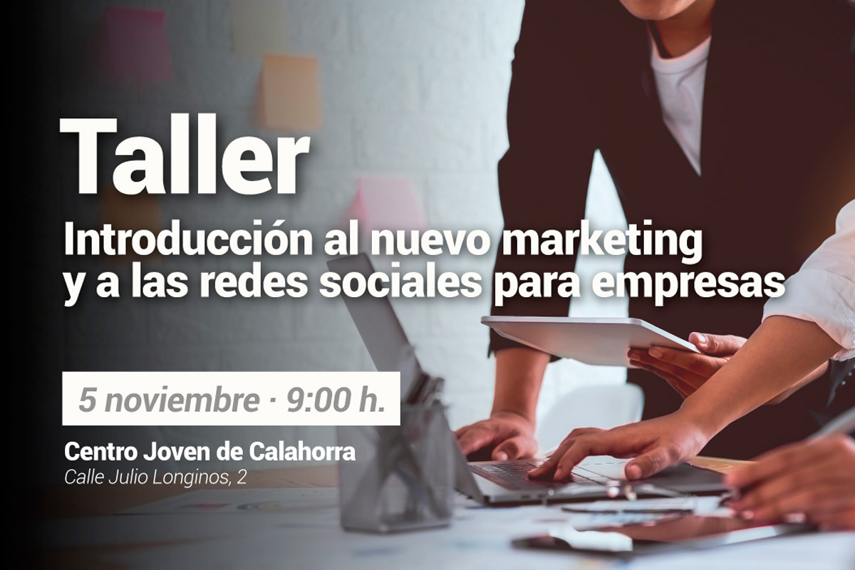 The New Ads Imparte Un Taller Sobre Nuevo Marketing Y Redes Sociales, En Calahorra
