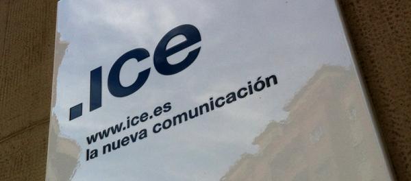 Imagen del rótulo de ice comunicación