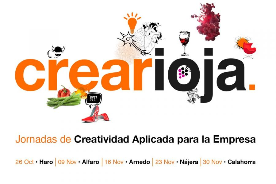Crearioja, jornadas de creatividad aplicada a la empresa