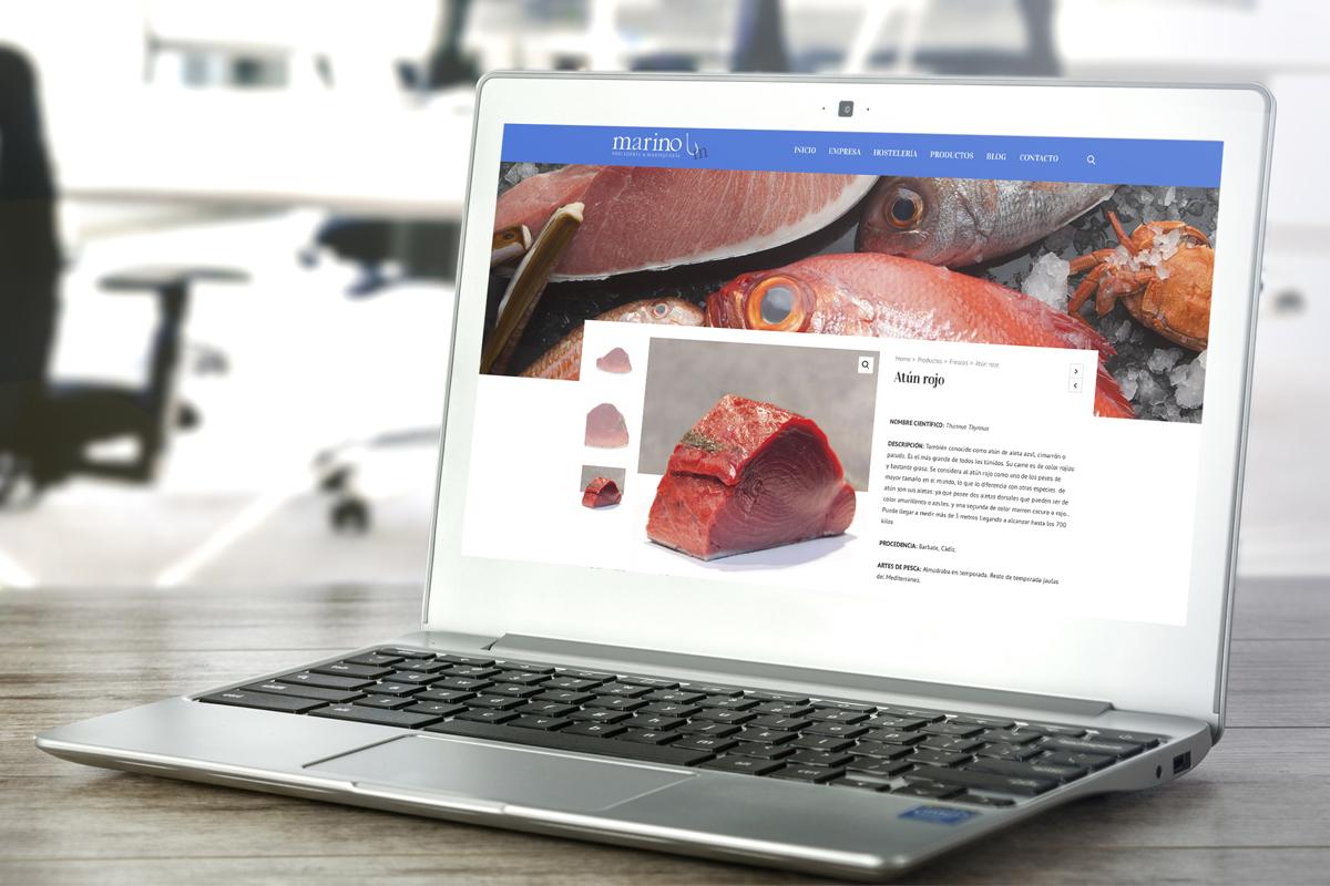 Marino Publicidad Realiza La Nueva Web De Pescados Marino