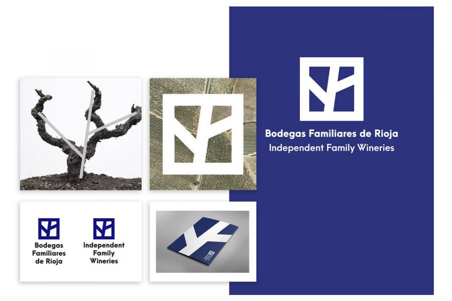 Logo De Bodegas Familiares Con El Que Lles Ganó El Anuaria De Oro 2017