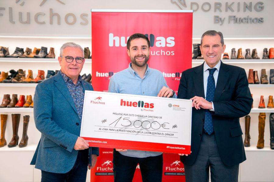 Fluchos dona 15.000 euros a la investigación contra el cáncer con una campaña social de Hola Jorge