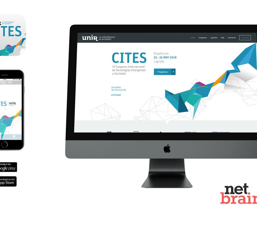 Netbrain desarrolla el portal web y APP para el VI Congreso Internacional de Tecnologías Emergentes y Sociedad (CITES)