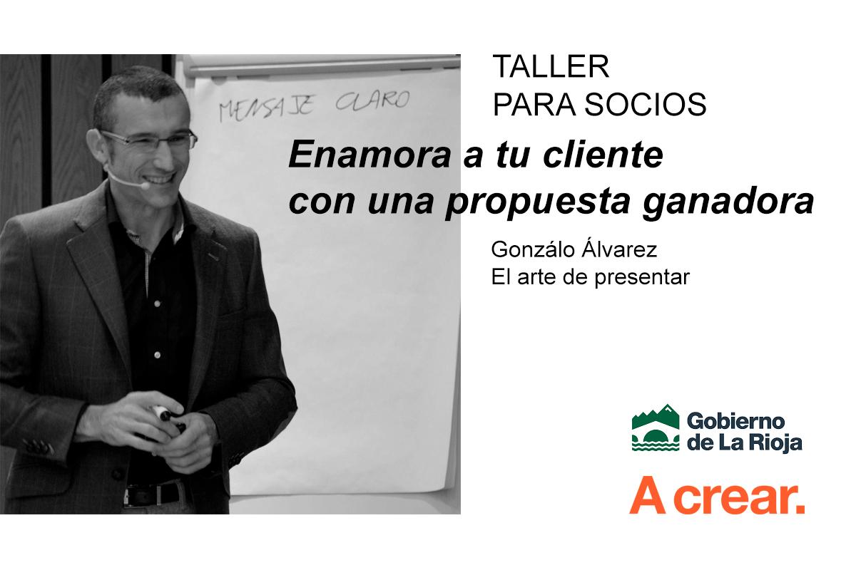 A Crear Organiza El Taller El Arte De Presentar
