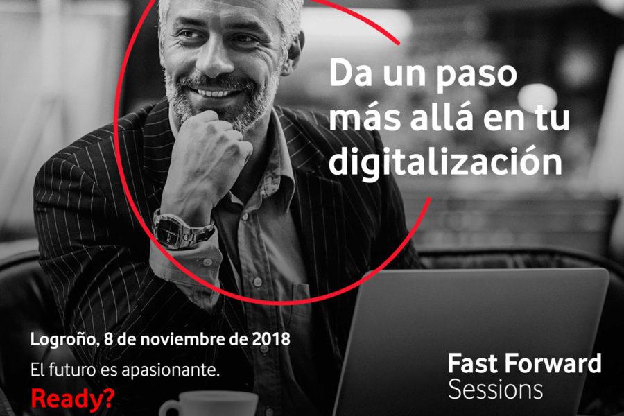 A crear colabora con la Fastforward Session de Vodafone en Logroño