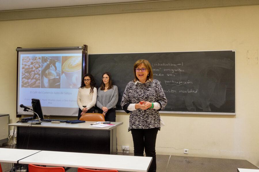 A crear participó en la valoración de trabajos de la asignatura de Publicidad de GADE de la UR