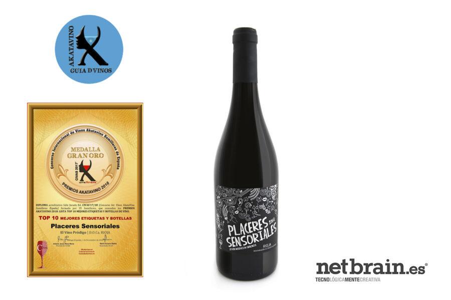 Netbrain consigue un Top 10 a la mejor etiqueta de vino