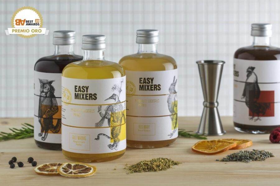 TSMGO gana Best Award por el packaging de Easy Mixers