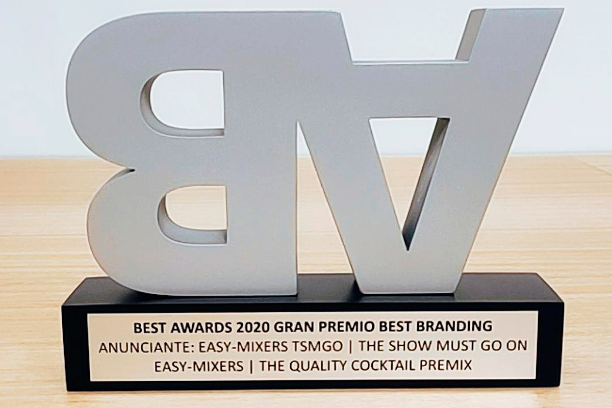 TSMGO Gana Best Award Por El Packaging De Easy Mixers