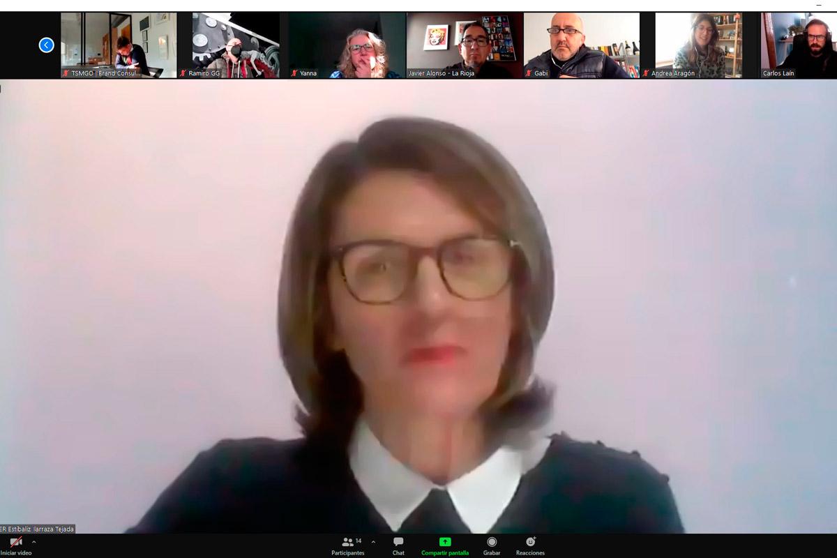 Captura De Pantalla De La Reunión Virtual De La Asamblea De A Crear 2020