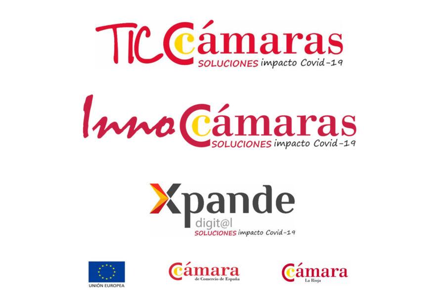Convocatoria para TicCámaras, Innocámaras y Xpande