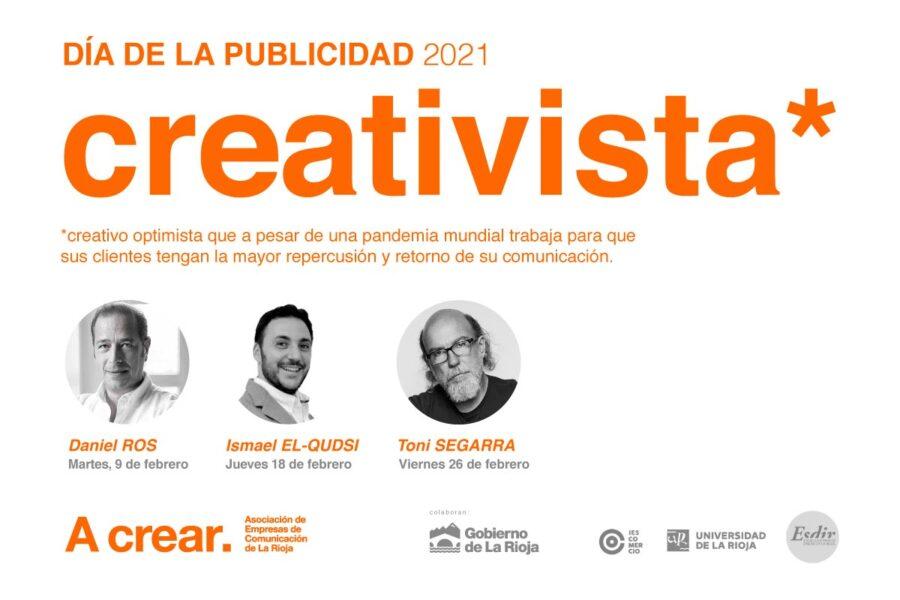 Cartel de A crear para el Día de la Publicidad 2021