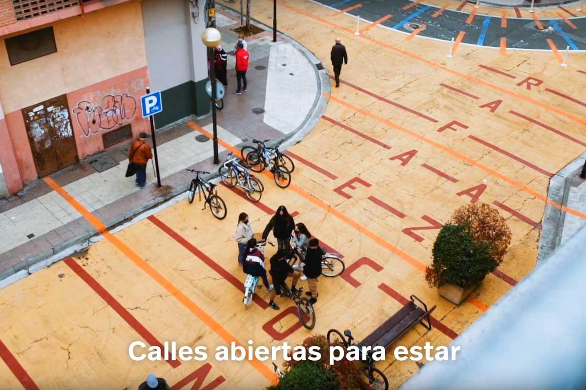 Fotograma Del Spot De Promoción De La Iniciativa 'Logroño, Calles Abiertas'